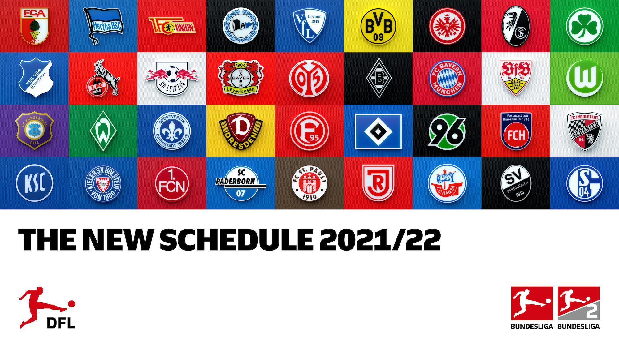 Bundesliga Borussia Monchengladbach Against Bayern Munich To Kick Off The 59th Bundesliga Season Bundesliga 2 Starts With Schalke Against Hamburg